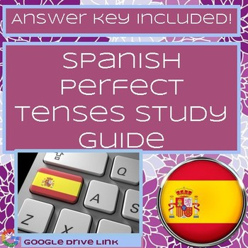 Spanish Perfect Tenses Study Guide