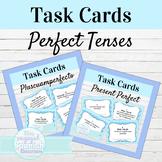 Spanish Perfect Tenses Task Card Bundle