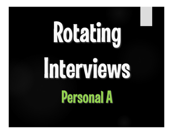 Spanish Personal A Rotating Interviews