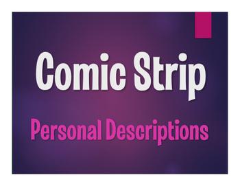 Spanish Personal Descriptions Comic Strip