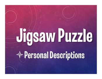 Spanish Personal Descriptions Jigsaw Puzzle