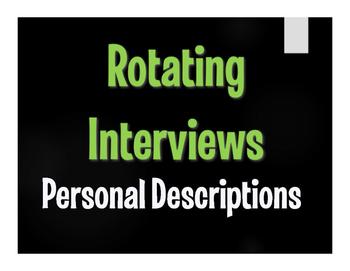 Spanish Personal Descriptions Rotating Interviews