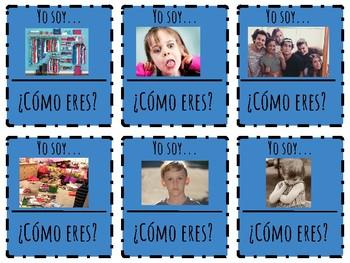 Spanish Personality Characteristics Vocab