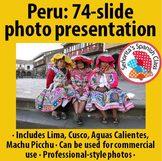 Spanish - Peru - PowerPoint Presentation with Photos (for commercial use!)