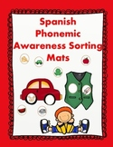 Spanish ABC Centers:  Phonemic Awareness Learning Mats