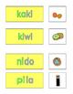 Spanish Phonics 2 syllable i word cards