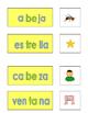 Spanish Phonics 3 syllable e word cards