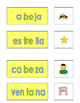 Spanish Phonics 3 syllable e word cards