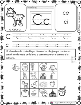 Spanish Phonics Book Set 8 S 237 Labas Ce Ci Ge Gi Amp Y By