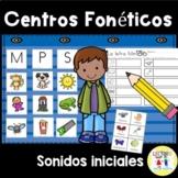 Spanish Phonics - Centros foneticos - Initial Sound Pictur