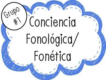 Spanish Phonics Set #1