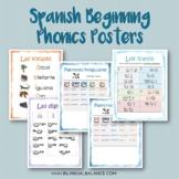 Spanish Phonics Skills Posters