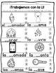 Spanish Phonics|Trabajemos con las consonantes Bundle #3|Fonética| No Prep!|