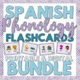 Spanish Phonology Minimal Pairs Flashcards for Speech Ther