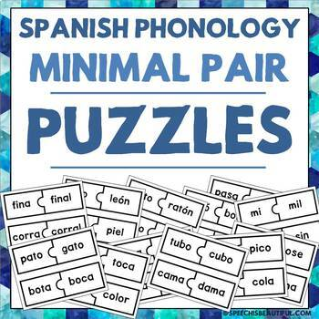 Spanish Phonology Minimal Pair Puzzles