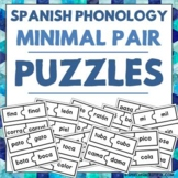 Spanish Phonology Minimal Pair Puzzles - Spanish Speech Therapy