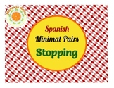 Spanish Phonology - Stopping Minimal Pairs, Cariboo & Candy Land