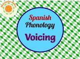 Spanish Phonology - Voicing Minimal Pairs Cards + Cariboo,