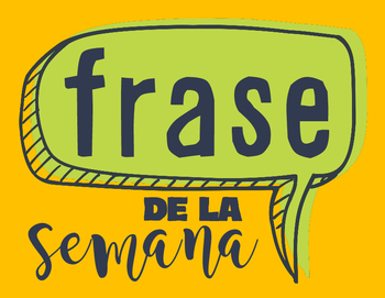 Spanish Phrase of the Week - Display Sign
