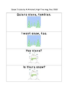 Spanish Phrases: Snow Tricks
