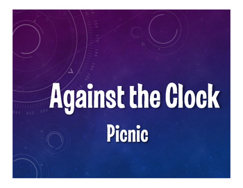 Spanish Picnic Against the Clock