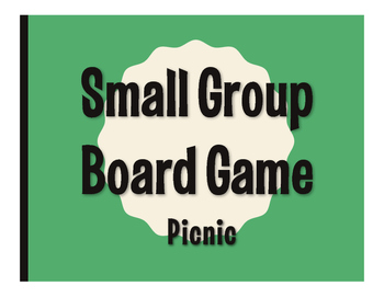 Spanish Picnic Board Game