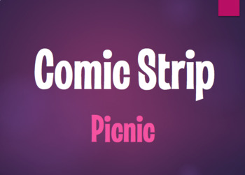 Spanish Picnic Comic Strip