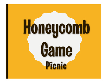 Spanish Picnic Honeycomb