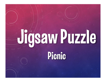 Spanish Picnic Jigsaw Puzzle