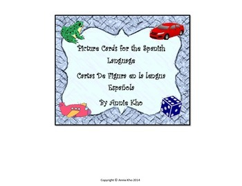 Spanish Picture Cards and Worksheets