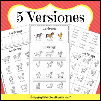 Spanish Picture Dictionary Bundle