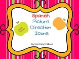 Spanish Picture Direction Icons