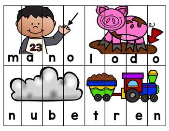 Spanish Picture Puzzles