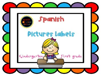 Spanish Pictures Labels