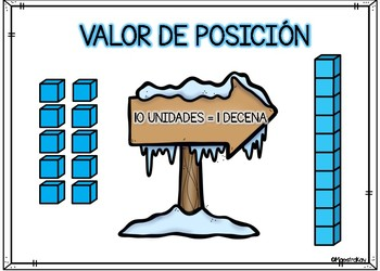 Spanish Place Value (1 -120) Pack