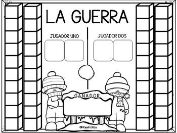 Spanish Place Value Freebie Game