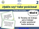 Spanish Place Value Task Cards to Hundreds | Valor posicio