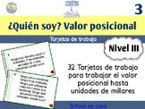 Spanish Place Value Task Cards to Thousands   Tarjetas de