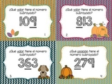 Spanish Place and Value Task Cards