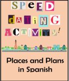 Spanish Places / Making Plans Speed Dating Activity