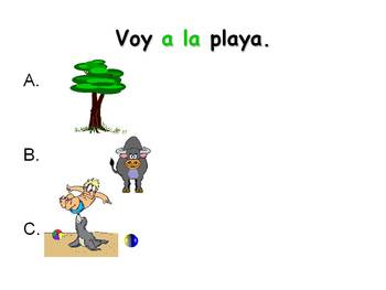 Spanish Teaching Resources. Places in Town PowerPoint