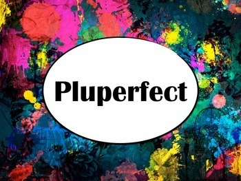 Spanish Pluperfect Keynote Slideshow for Mac