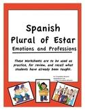 Spanish Plural of the Verb Estar