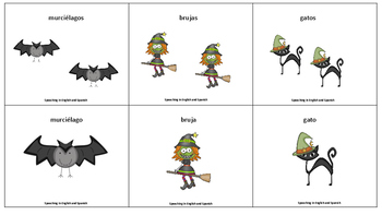 Spanish Plurals Exercise for Halloween! {Freebie} / Plurales en Español {Gratis}