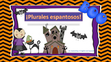 Spanish Plurals Exercise for Halloween! {Freebie} / Plural