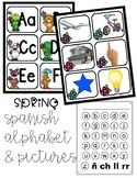 Spanish Pocket Chart Alphabet