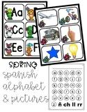 Spanish Pocket Chart Alphabet