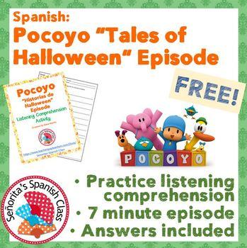 Spanish - Pocoyo - Halloween Episode - FREEBIE