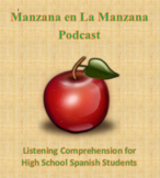 Spanish Culture Podcast Listening Comprehension for High School Spanish Students