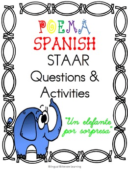 "Spanish Poem-""Un elefante por sopresa"" NO prep needed just"
